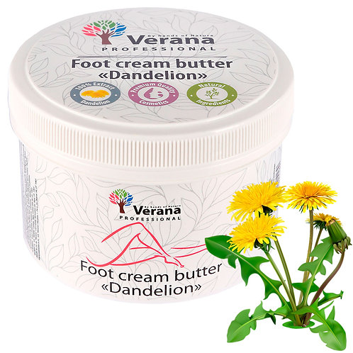 FOOT CREAM BUTTER «DANDELION»