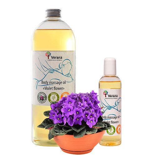 BODY MASSAGE OIL «VIOLET»