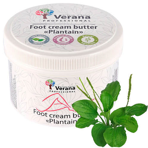 FOOT CREAM BUTTER «PLANTAIN»