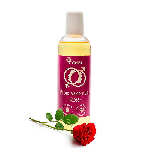 EROTIC MASSAGE OIL «ROSE» 250ml