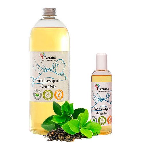 BODY MASSAGE OIL «GREEN TEA»
