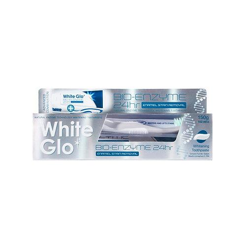 White Glo Bio-enzyme Enamel Stain Removal Whitening Toothpaste 150g