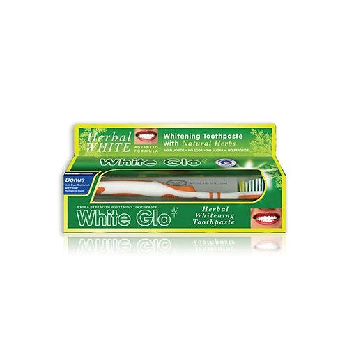 White Glo Herbal Whitening Toothpaste 150g