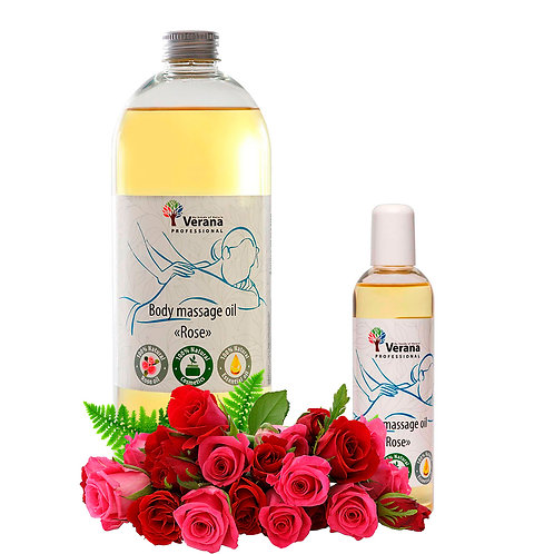 BODY MASSAGE OIL «ROSE FLOWER»