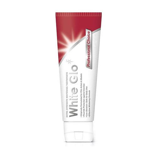 White Glo Professional Choice Whitening Toothpaste 150g