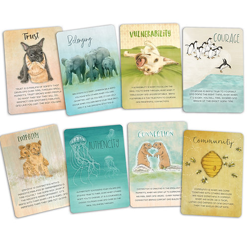 The Wholehearted Learning Cards