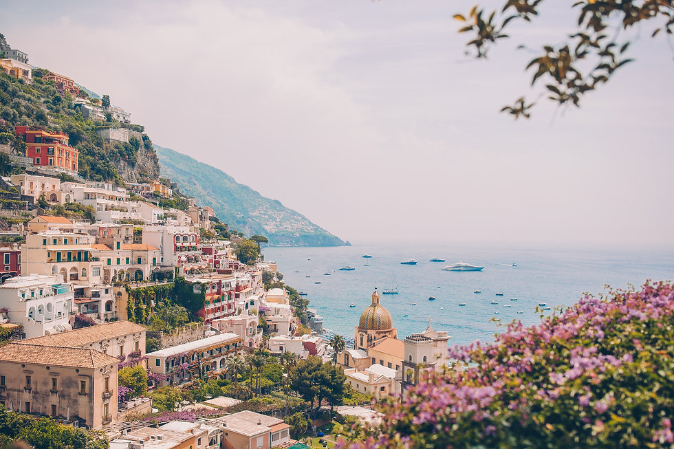 view-of-the-town-of-positano-with-flower