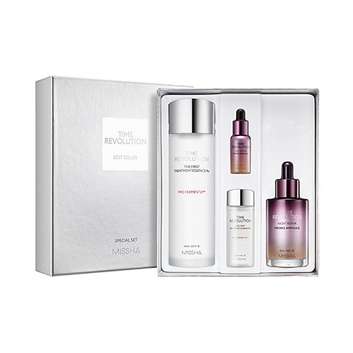 TIME REVOLUTION NIGHT REPAIR BEST SELLER SET(NIGHT REPAIR AMPOULE + THE FIRST TR