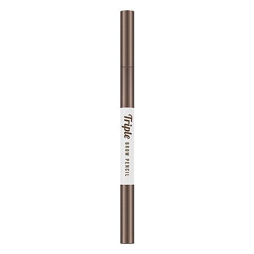 Triple Brow Pencil (Natural Brown)