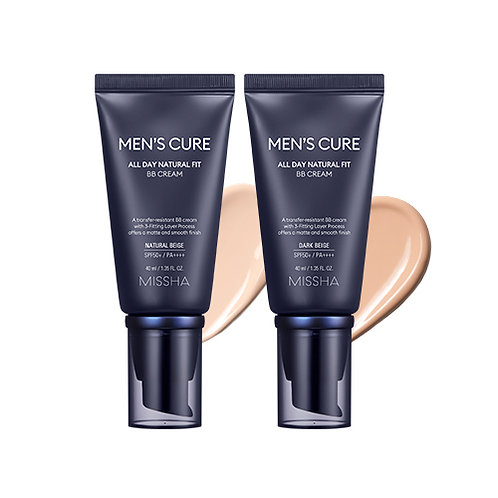 Men's Cure All Day Natural Fit BB Cream Natural Beige (SPF50+/PA++++)