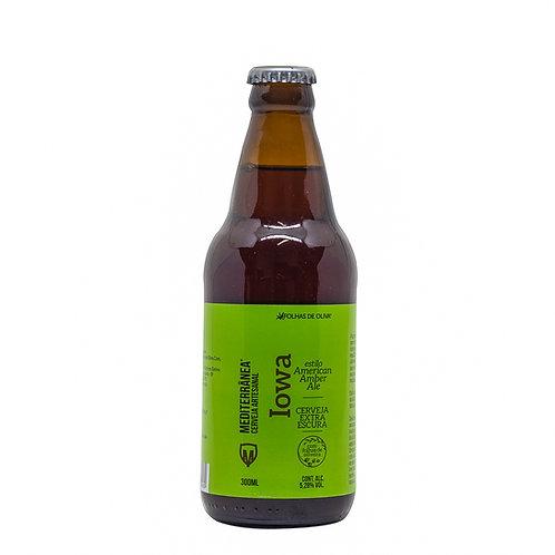 Cerveja Mediterrânea Iowa - Folhas De Oliva - 300ml