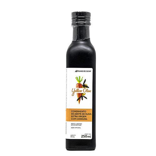 Condimento de azeite de oliva extra virgem com cenoura - YELLOW OLIVE