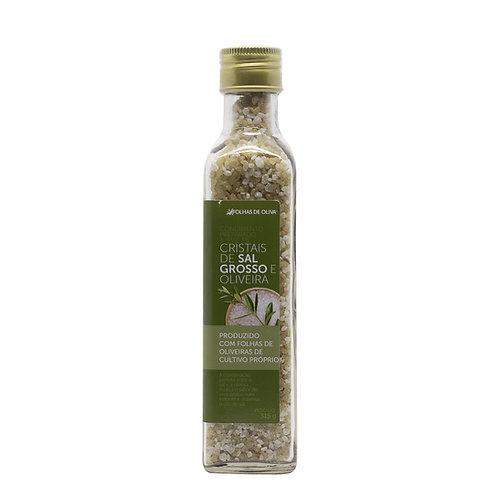 Condimento preparado à base de cristais de sal grosso e oliveira 315gr