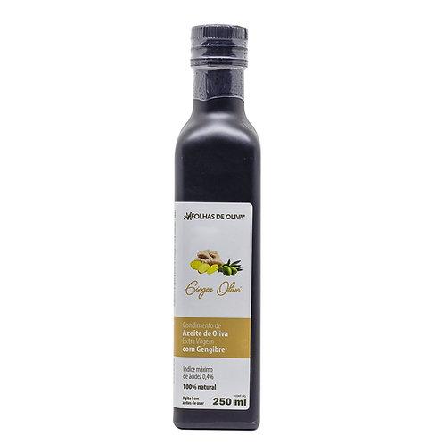 Condimento de azeite de oliva extra virgem com gengibre - GINGER OLIVE 250ml
