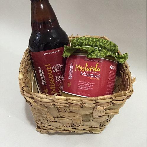 Kit Cerveja Mediterrânea Missouri + Mostarda Mediterrânea Missouri