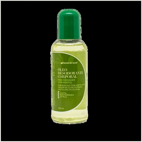 Óleo Desodorante Corporal para Massagem com Mentol 120 ml