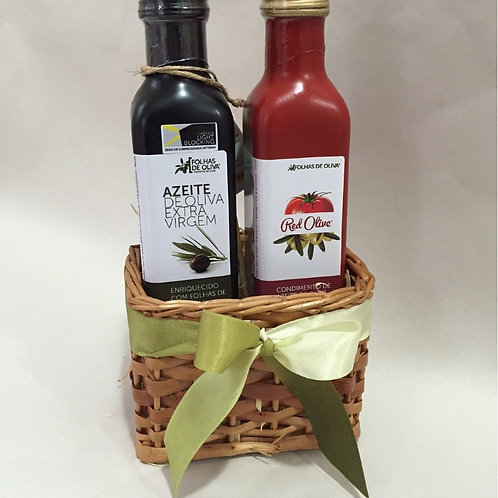 Kit Azeite Red Olive 250 ml + Azeite Extra Virgem 250 ml
