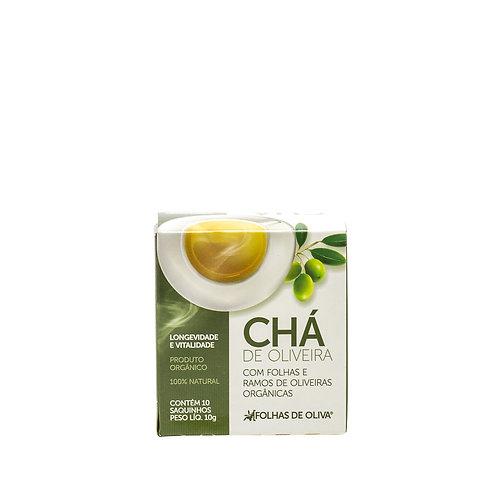 Chá de Oliveira caixa c/ 10 sachês 10 g