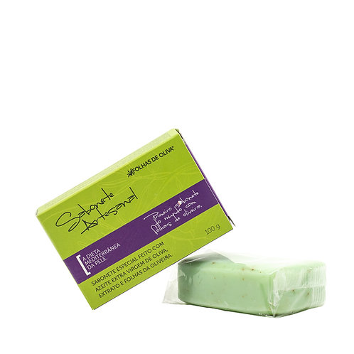 Sabonete Artesanal Folhas de Oliva 100 g