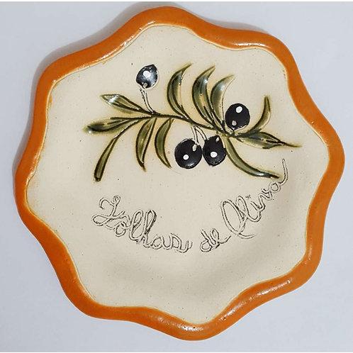 Peça Artística de Cerâmica Artesanal