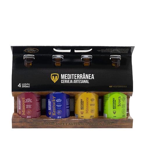 Kit Mediterrânea Cerveja Artesanal