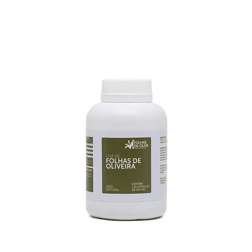 Extrato de Oliveira Micronizado Folhas de Oliva - 120 caps de 500 mg 60g