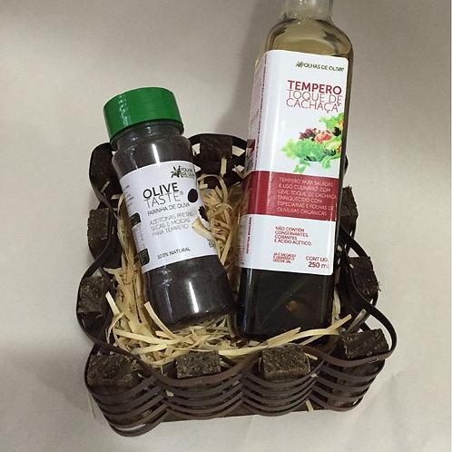Kit Tempero Toque de Cachaça + Olive Taste