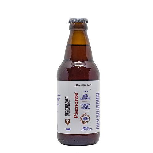 Cerveja Mediterrânea Piemonte - Folhas De Oliva - 300ml