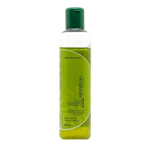 Shampoo Folhas de Oliva 200 ml