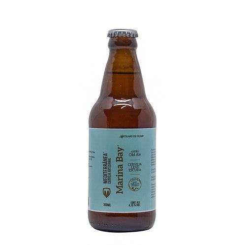 Cerveja Mediterrânea Marina Bay - Folhas de Oliva - 300ml