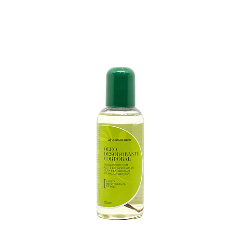 Óleo Desodorante Corporal Folhas de Oliva 120 ml