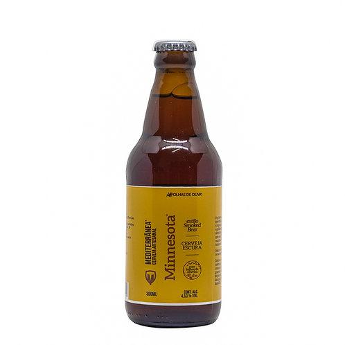 Cerveja Mediterrânea Minnesota - Folhas De Oliva - 300ml