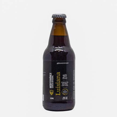 Cerveja Mediterrânea Louisiana - Folhas De Oliva - 300ml