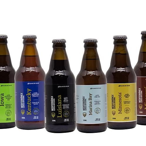 Cervejas Artesanais 300 ml (Conheça todos os estilos) - Folhas de Oliva