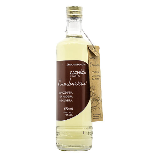 Cachaça Prata Cambarissú -garrafa Tradicional 670ml