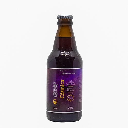 Cerveja Mediterrânea Cósmica - Folhas De Oliva - 300ml