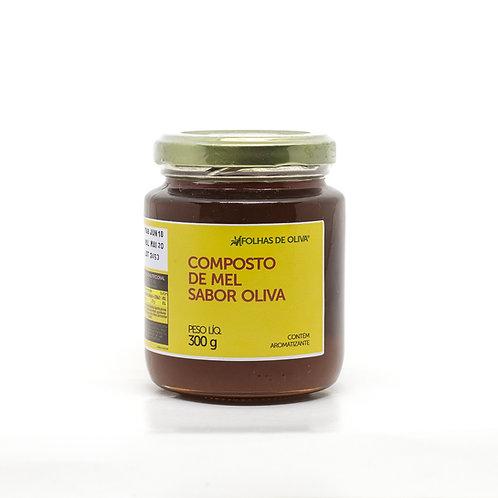 Composto de mel sabor oliva - Folhas de Oliva - 300g