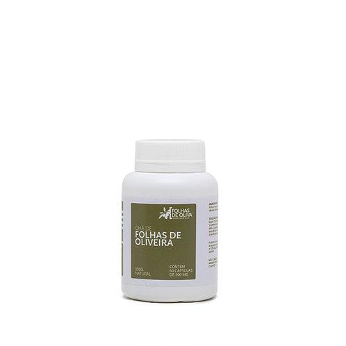 Extrato de oliveira micronizado - Folhas de Oliva - 60 caps  de 500 mg - 30g