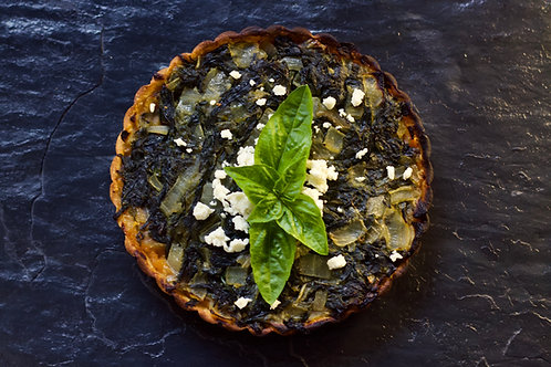 Spinach & Roasted Butternut Tart