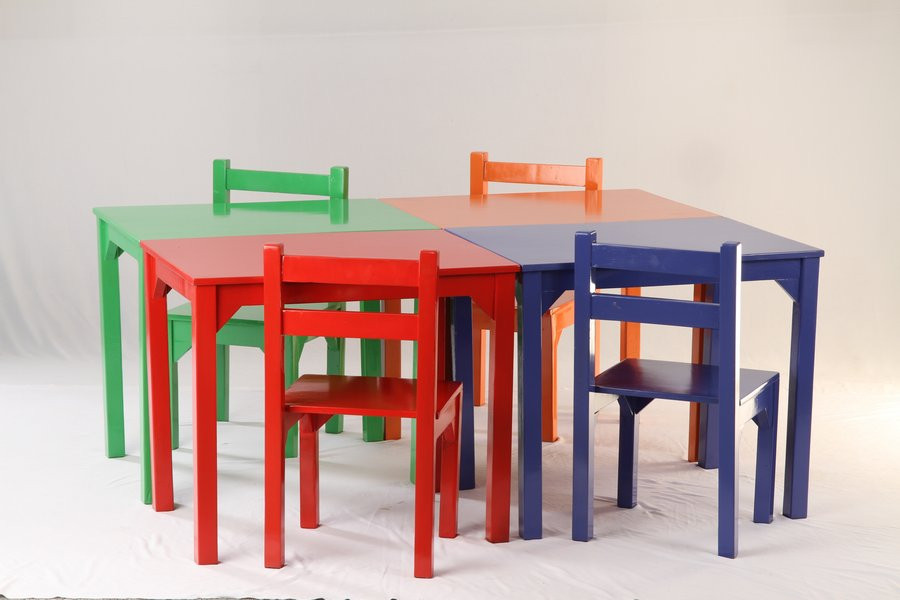 Starting @ Kids table - Rs.900  Kids chair - Rs.600/ piece