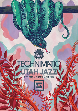 Technimatic Poster - Rise Swansea