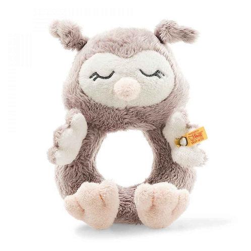 Soft Cuddly Friends Ollie Eule Greifring mit Rassel