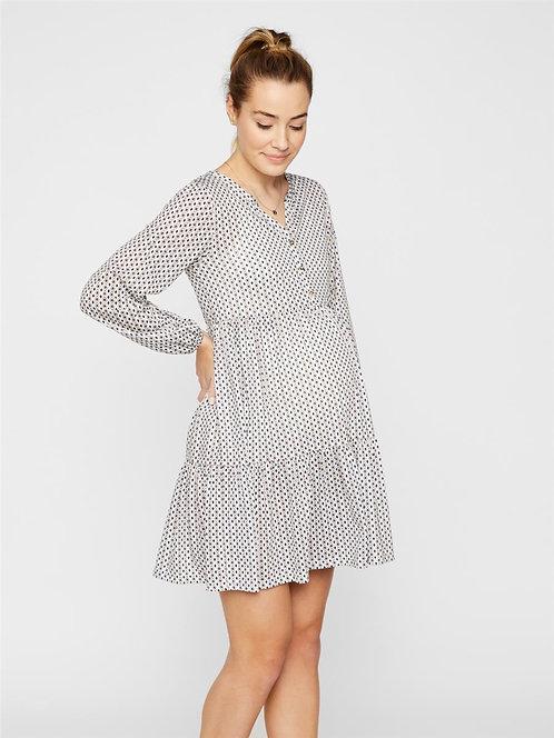 MLKAMMI LIA L/S JERSEY SHORT DRESS