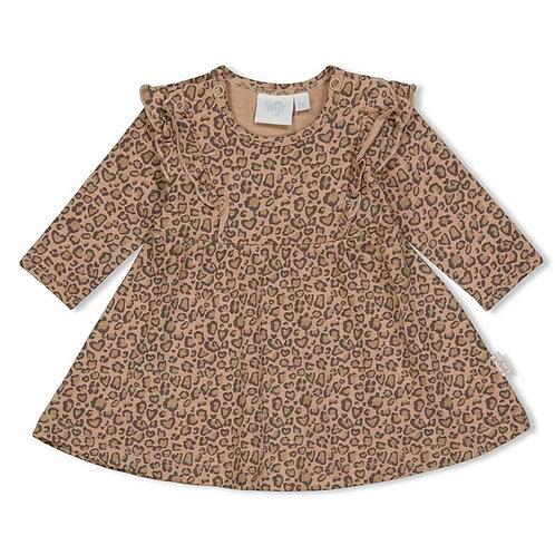 Kleid AOP - Panther Cutie
