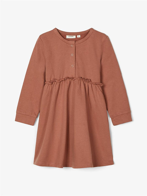 NMFEBBA LS SWEAT DRESS LIL