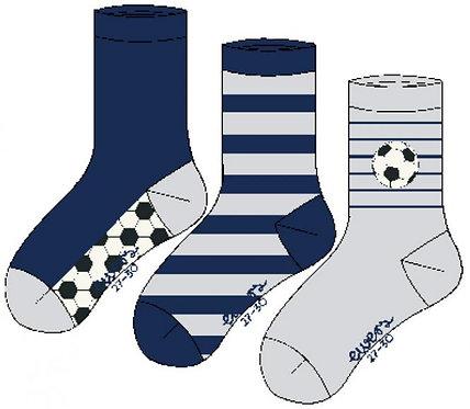 Socken 3er Pack Fussball