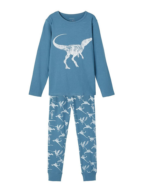 NKMNIGHTSET REAL TEAL DINO NOOS