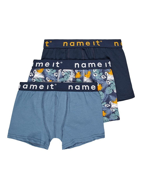 NKMBOXER 3P CHINA BLUE LEAVES AOP NOOS