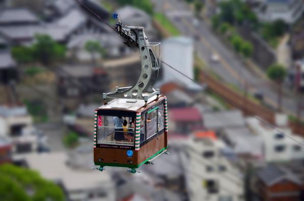 Palmtop Gondola / 手のりロープウェイ