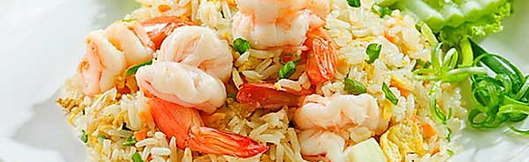 Fried Rice and Over Rice for party.(1/2 Size Tray)